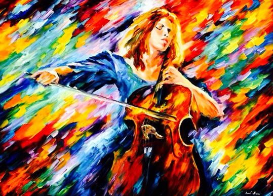 When someone who is brave, becomes weak, someone who is weak becomes brave with music and creativity.
