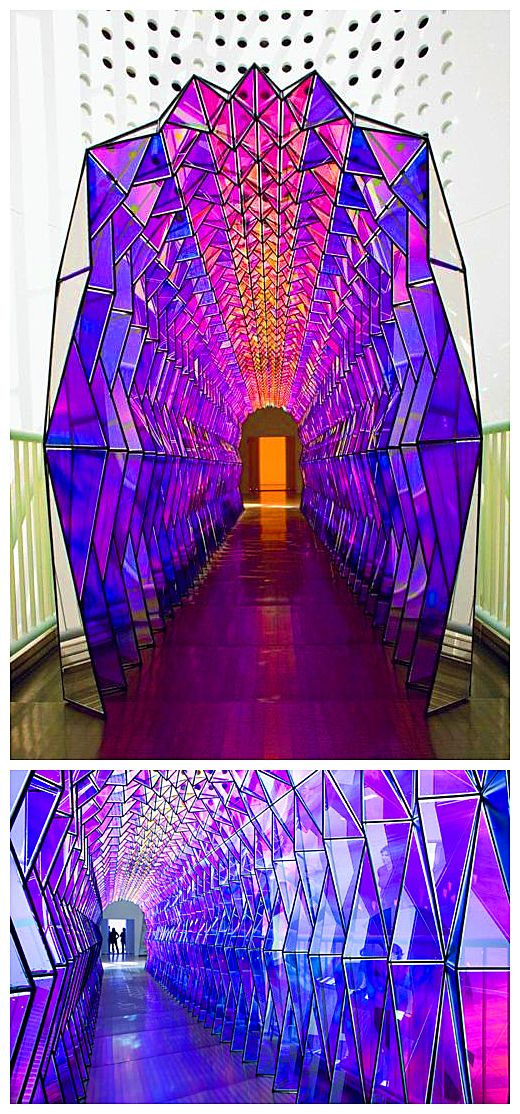 Olafur Eliasson, One-Way Colour Tunnel, 2007 | have heART ... Olafur Eliasson One Way Colour Tunnel