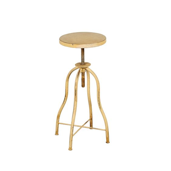 Wildon Home ® Distressed Twist Stool