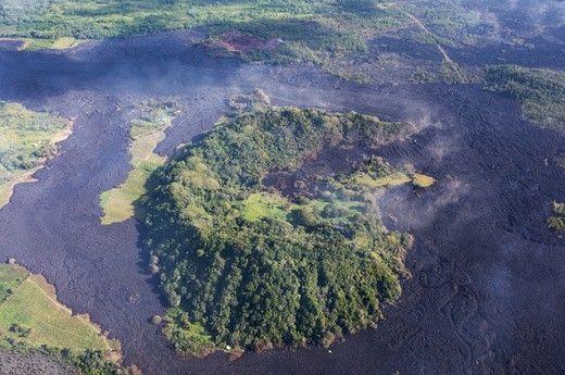 Kīlauea volcano in Hawaii