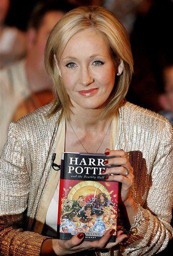 JK Rowling. Hero.
