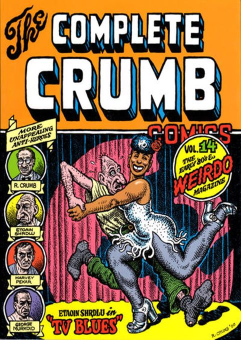 The Complete Crumb Comics 14 by #Robert_Crumb #underground_comics