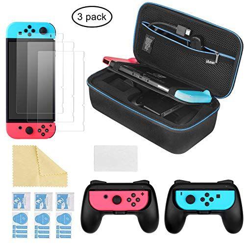Iamer 6 En 1 Kit De Accesorios Para Nintendo Switch Funda Para