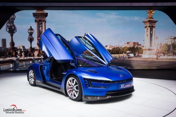 Cars - Volkswagen XL Sport Concept : de la moto sans casque... - http://lesvoitures.fr/volkswagen-xl-sport-concept/