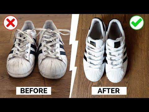 Jak Czyscic Biale Buty Metamorfoza Sneakersow Zophia Stylistka Youtube Idee
