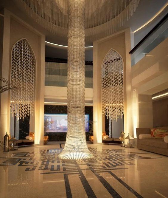 Interior Design Islamic Reception Salonnodefield Exterio Walaadesigns