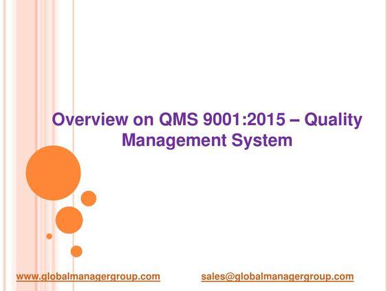 Templates for ISO 9001 Quality Manual \ ISO 9001 Procedures - quality manual template