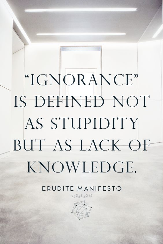 #EruditeManifesto