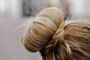 trend spotting: the sock bun