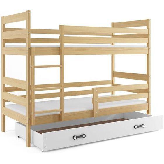 Etagenbett Sarina Mit Schublade In 2020 Holz Etagenbett Bett