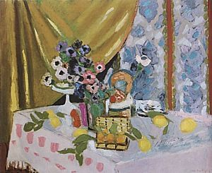 matisse still life with flowers 1925