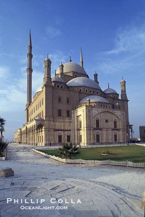 Mohamed Ali castle Cairo Egypt