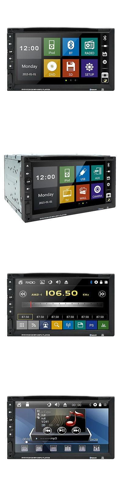 Vehicle Electronics And GPS: Hd Double 2Din Car Stereo Dvd Cd Player Bluetooth Touch Fm Radio Usb Mp3 In Dash BUY IT NOW ONLY: $98.99 #priceabateVehicleElectronicsAndGPS OR #priceabate