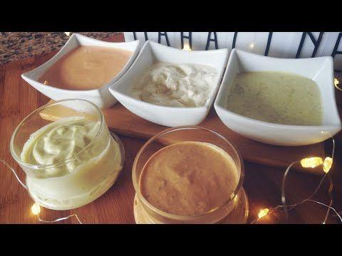 صلصات التاكوس Tacos صلصة الجزائرية صوص اندلس صلصة الجبن صوص بيچي المايونيز Youtube Taco Sauce Recipes Food Recipes