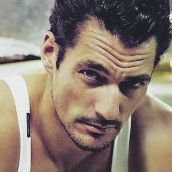 Well, hello there ...  #DavidGandy for @glamourspain ❤