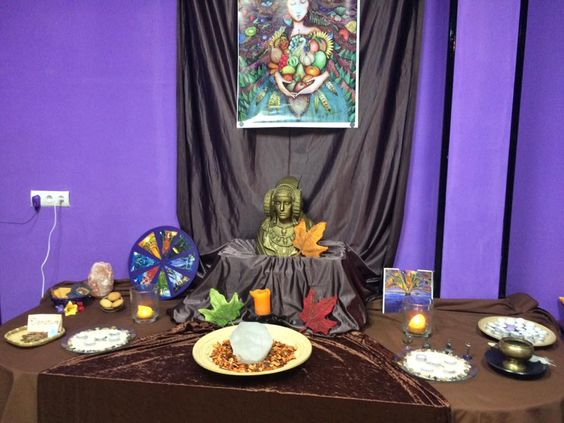 Altar de Mabon 2016