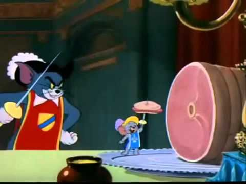 Favorite scene on favorite episode of Tom & Jerry: Nibble's Alouette Song