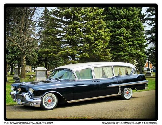 1957 Cadillac Hearse...Re-pin..Brought to you by #HouseofInsurance #EugeneOregon for great auto insurance rates.