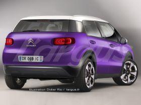 Citroën C3 Picasso II vue arrière