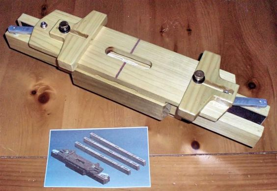 Self center mortising jig - Jigs - Fine Woodworking
