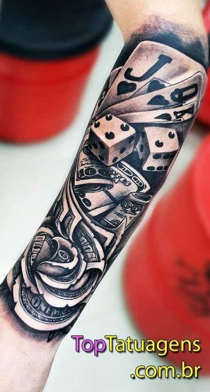 New Tattoo Arm Men Wolf Ideas In 2020 Tattoos Card Tattoo Designs Hand Tattoos
