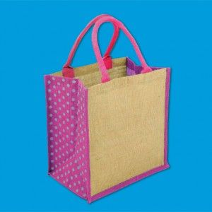 Have a look at our Pink Polka dot bags