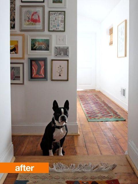 我們看到了。我們是生活@家。: 將走廊白牆變成回憶與喜好的小藝廊!