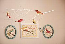 Lella Boutique: Olive's Baby Bird Mobile