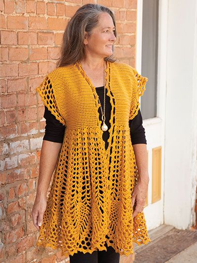 You'll love this NEW Pineapple Drop Cardigan Crochet ...
