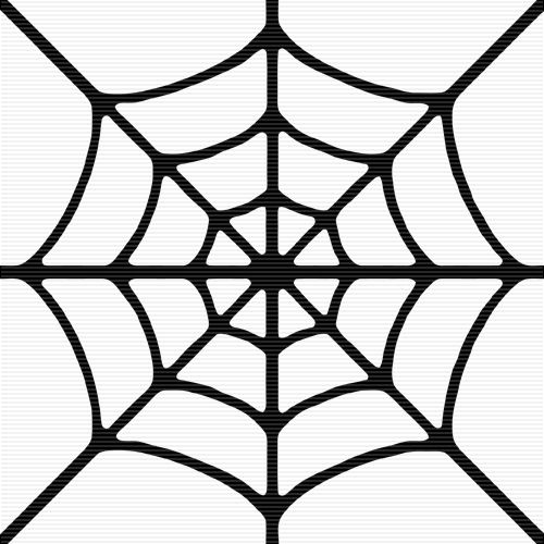 simple spider web template google search icing designs templates pinterest spider webs. Black Bedroom Furniture Sets. Home Design Ideas