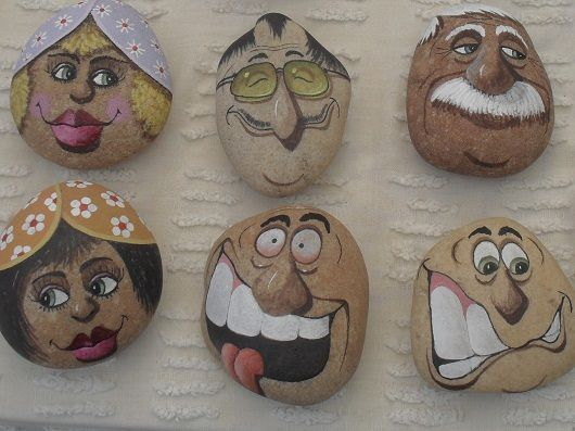 Face Painting Patterns Rock Painting Art Rock Crafts Painted Rocks