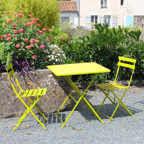 Stunning Table Jardin Pliante Couleur Gallery - Awesome Interior ...