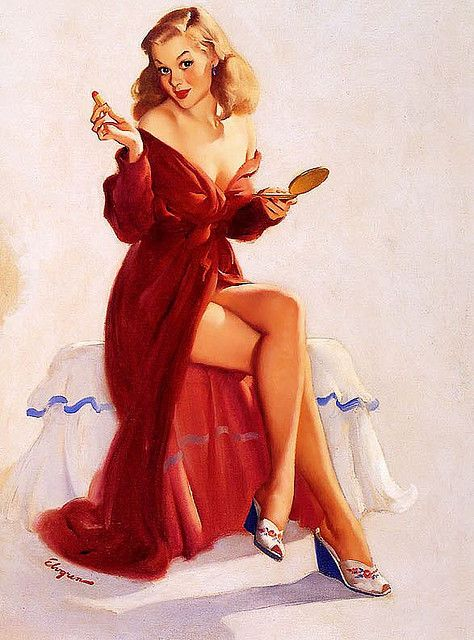 Gil Elvgren #pinup #pin #up #girl #vintage: