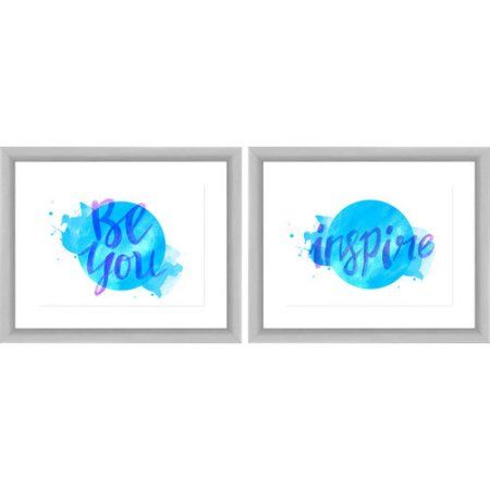 Be You Wall Art, 22 inch x 18 inch