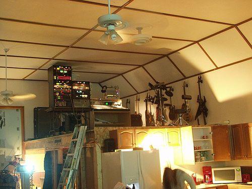 Music studio loft