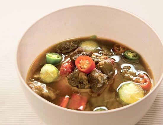 Resep Garang Asem Daging Pekalongan Resep Semur Daging Masakan