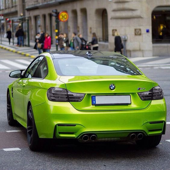 BMW M4 BMW M Series Bimmer Green Cars Custom