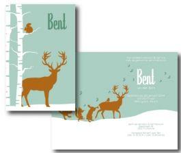 Hippe, mooie, strakke, eigentijdse collectie kaarten | AAGJEONTWERP.NL - mooi ontwerp voor winterkindje