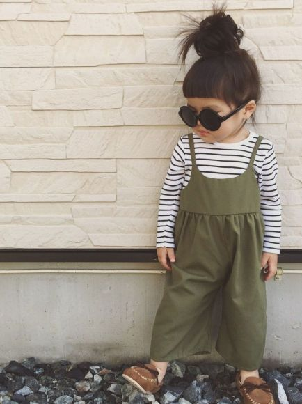 Cute baby girl clothes outfits ideas 97