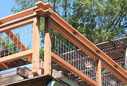 Best Custom Hogwire Guard Rail Fence Ideas Pinterest Cas 640 x 480