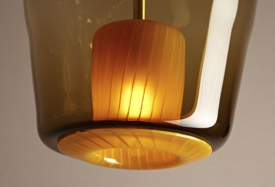 Jeremy Wintrebert | Molten (detail) | 2012, Glass, brass | edition of 8 +1AP | France