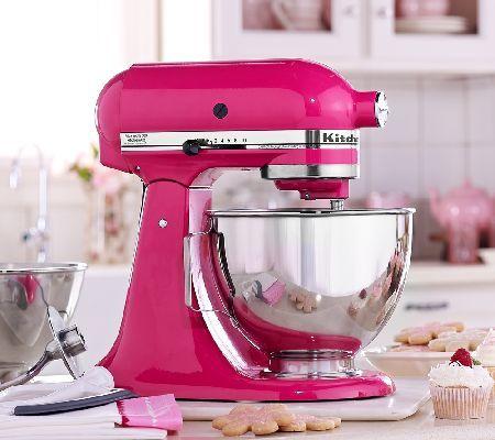 Pinterest the world s catalog of ideas - Pink kitchenaid accessories ...
