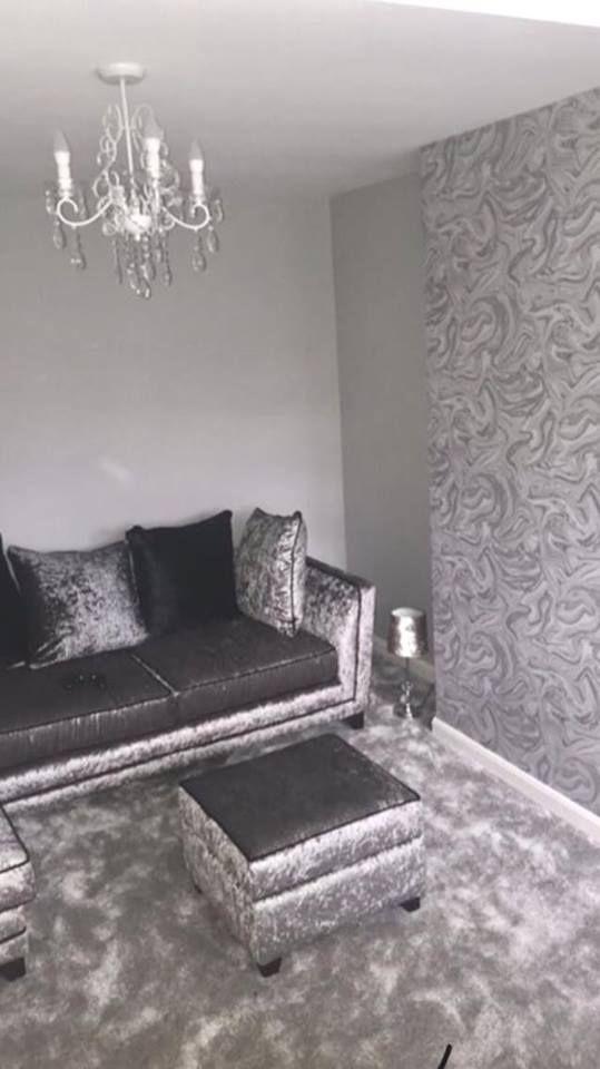 Prosecco Sparkle Marble Wallpaper Grey Silver Grey Wallpaper Living Room Elegant Living Room Design Bedroom Color Schemes