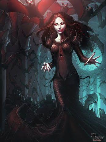 Woman Dark & Surreal Fantasy Cartoon - Comunidade - Google+