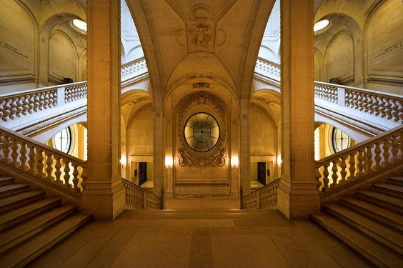 Escalier Lefuel, Musée de Louvre