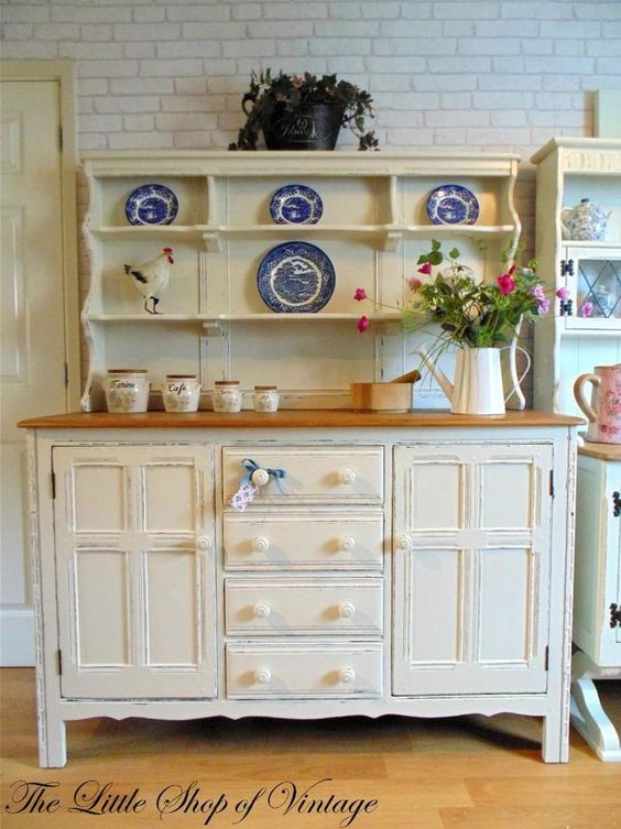 Stunning ercol welsh dresser sideboard cupboard cabinet for Ercol mural cabinets and sideboards