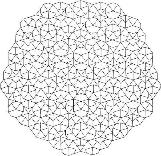 geometric coloring pages advanced nature - photo#15