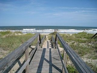 Kure Beach, NC... I only stayed a couple days, but it was so diff then San Diego beaches