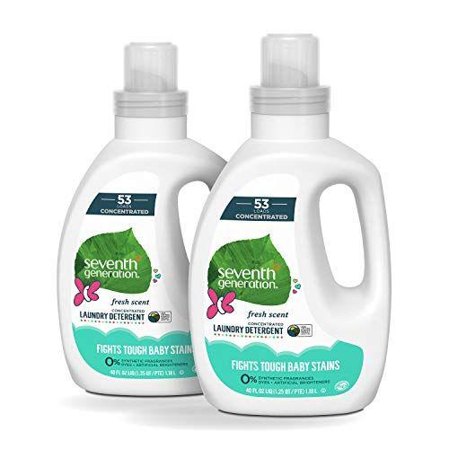 Seventh Generation Concentrated Laundry Detergent Geranium