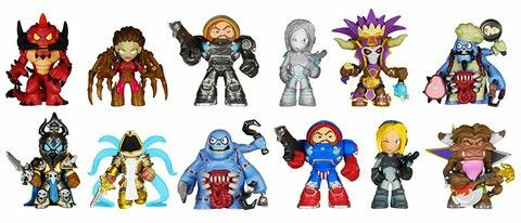 Blizzard Heroes of the Storm Mystery Minis by Funko